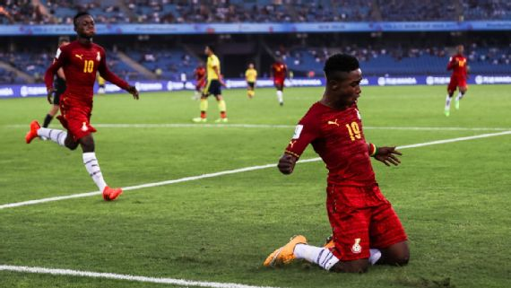 Ghana made the right start to the FIFA Under-17 World Cup