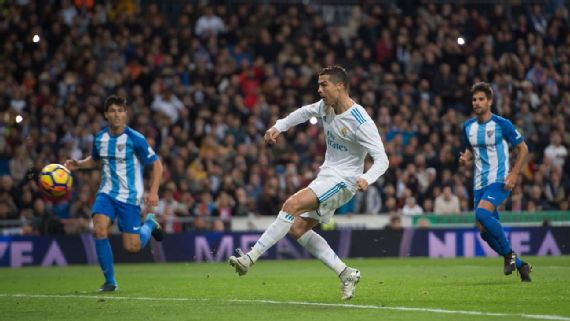 Ronaldo Ends Goal Drought As Madrid Edge Malaga
