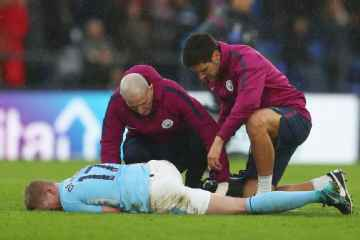 Pep Guardiola Gives Injury Updates On Gabriel Jesus & De Bruyne After Palace Stalemate