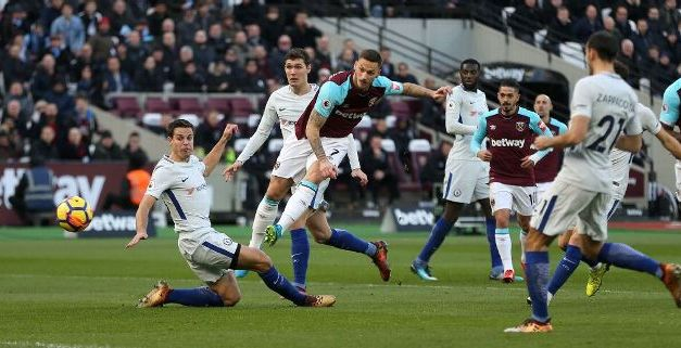 Arnautovic Goal Puts Chelsea All But Out Of Title Race