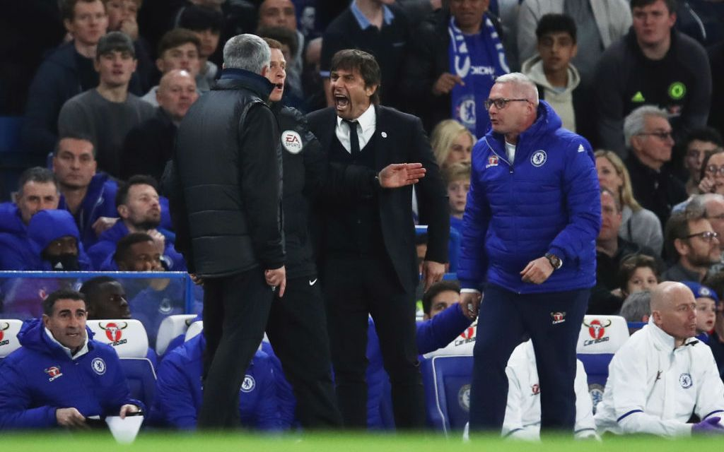 """""""You are a little man"""" – Chelsea boss Antonio Conte tells Jose Mourinho after match-fixing comment"""