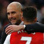 Pep Guardiola congratulates Man United and Alexis Sanchez on deal