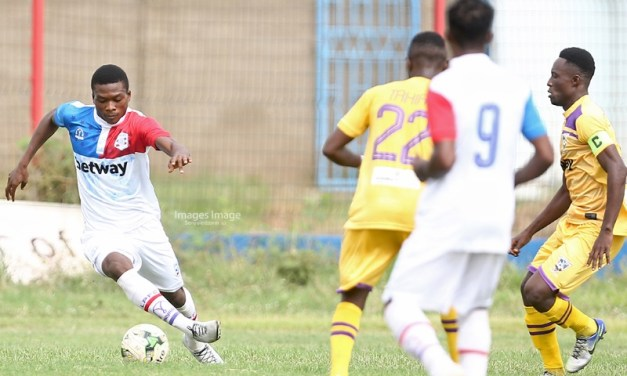 Ghana Premier League: Andoh miss penalty as Liberty Prof share spoils with Medeama