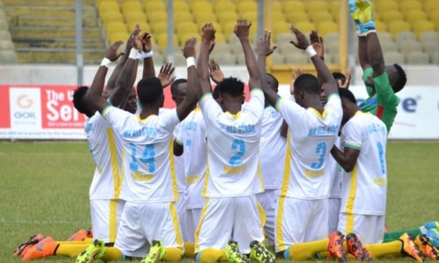Ghana Premier league: Wa All Stars grab their first win after beating Berekum