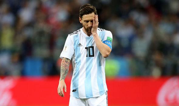 Argentina's loss to Croatia
