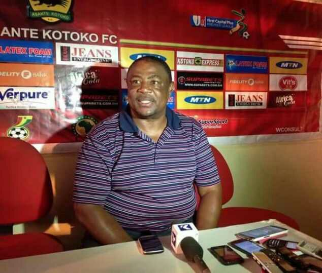 Paa Kwesi says coaching Kotoko and Hearts is a tough task