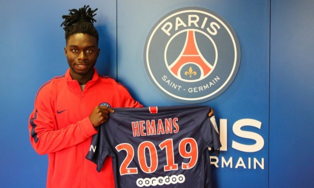 Ghanaian left-back Isaac Herman extends PSG contract until 2019