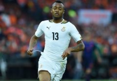 A brace from Jordan Ayew was enough to help the Black Stars