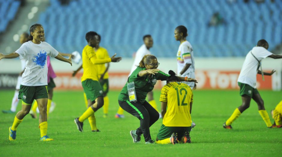 AWCON 2018: South Africa coach Desiree Ellis ecstatic after historic World Cup Qualification
