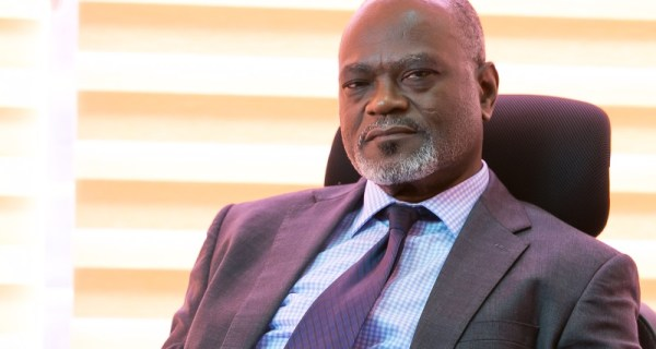 The head of the normalization committee Dr Kofi Amoah