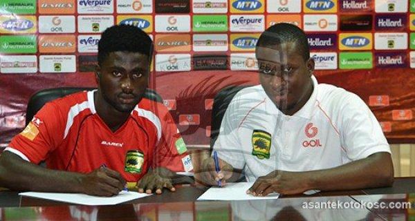 Asante Kotoko terminates contract of defender Emmanuel Owusu
