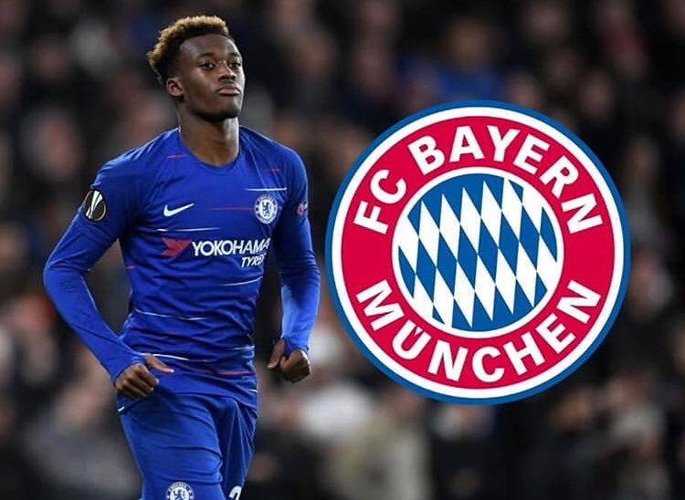 Bayern Munich table fourth bid of £35m for Callum Hudson-Odoi