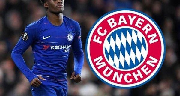 Bayern Munich table fourth bid of £35m for Callum Hudson-Odoi