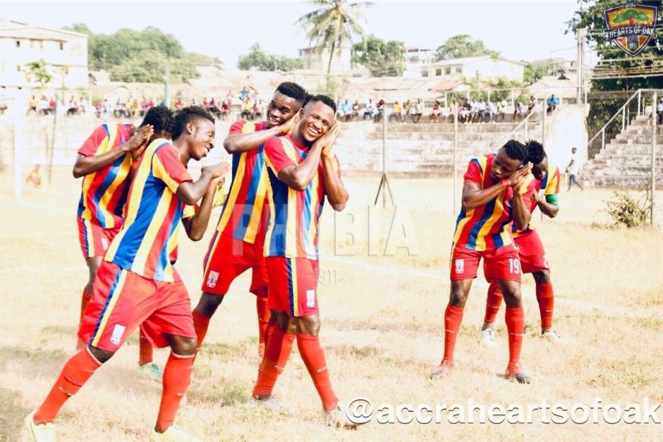 Hearts of Oak held by Pacific Heroes in friendly game