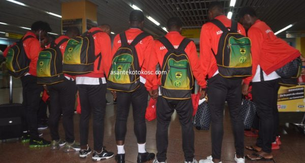 Asante Kotoko arrive in Ghana after CAF CC Elimination
