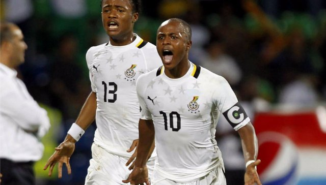 Andre Ayew to Captain Ghana for Kenya match