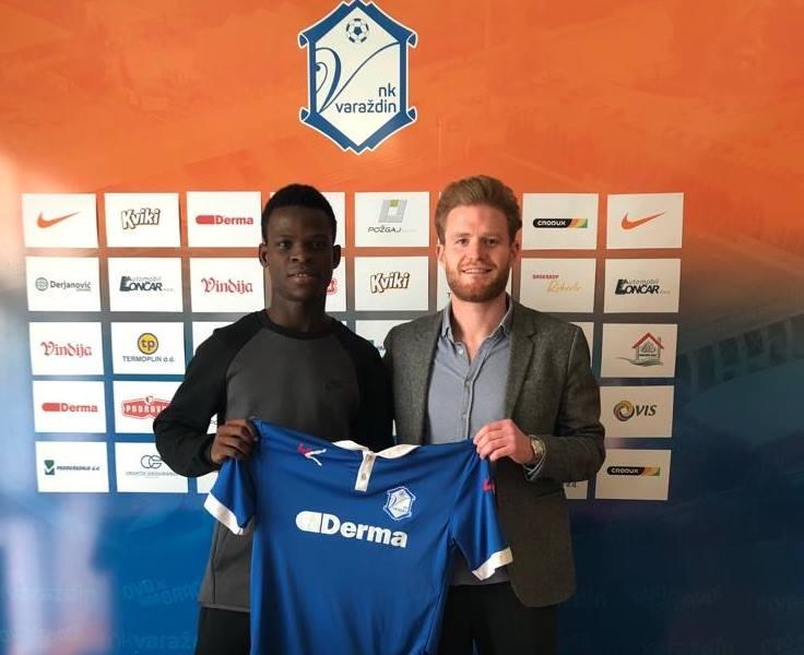 Accra Lions FC's Patrick Osei Kesse Jnr joins Croatian side NK Varazdin on loan