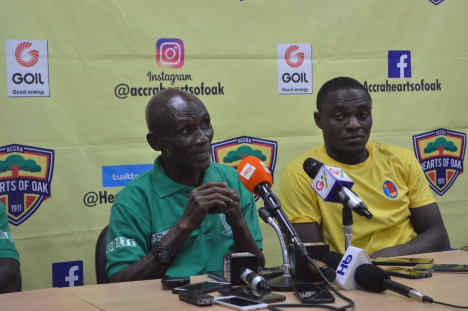 Ebusua Dwarfs coach Robert Asibo disappointed in his players
