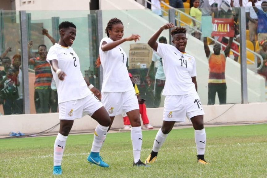 The Ghana Black Queens began their WAFU Women's Cup campaign with an emphatic 2-0 win over Senegal on Wednesday evening.
