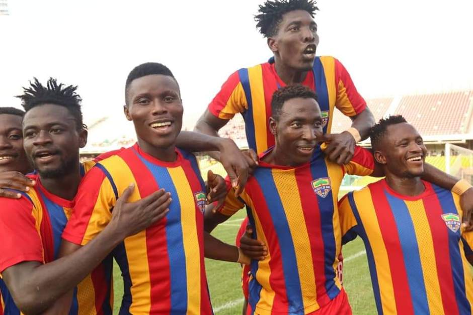 Hearts of Oak thrash Patron SC in friendly game