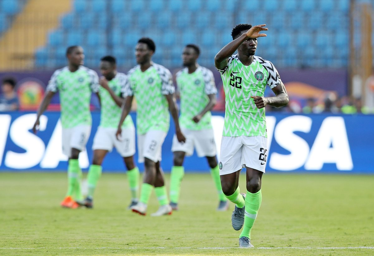 WATCH: AFCON 2019: Nigeria scale into the round of 16 after beating Guinea