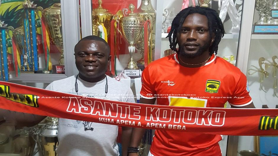 OFFICIAL: Asante Kotoko complete signing of Ivorian striker