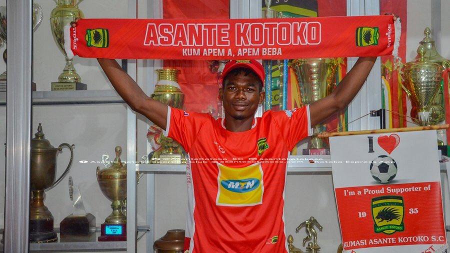 OFFICIAL: Asante Kotoko announce signing of Karela United defender