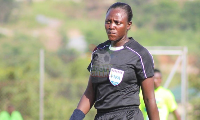 Female referee Juliet Appiah to officiate Kotoko friendly game against Rahimo FC
