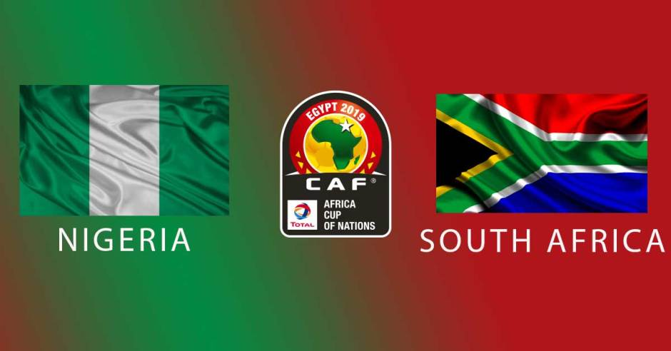 AFCON 2019: Nigeria vs South Africa | Watch Along Live