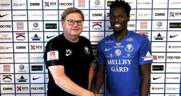 Breaking: Abdul Fatawu signs for Swedish club Trelleborgs