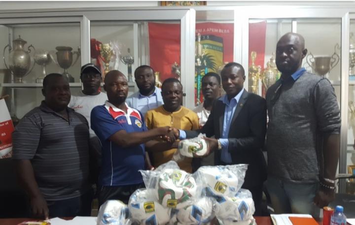 Ashlid Enterprise donates to Asante Kotoko