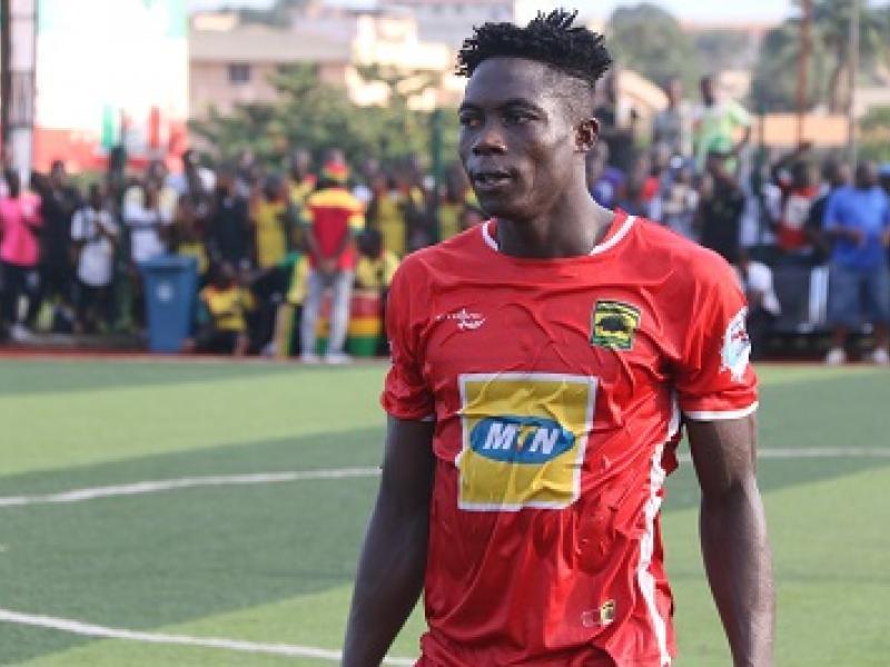 Justice Blay wins Asante Kotoko player of the month award