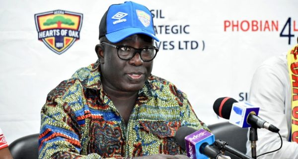 Hearts of Oak chief Frederick Moore targets six months to complete Pobiman project