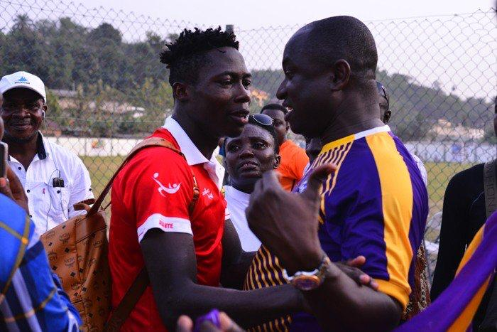 Justice Blay's father ready to negotiate player's transfer to Kotoko