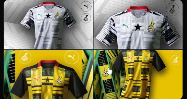 OFFICIAL: Photos of the new Ghana Black Stars kit