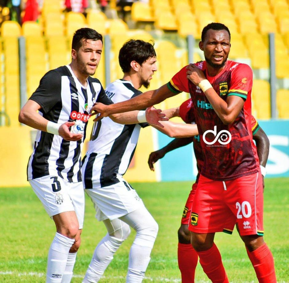 Watch Highlights: Asante Kotoko 1-2 ES Setif   CAF CC