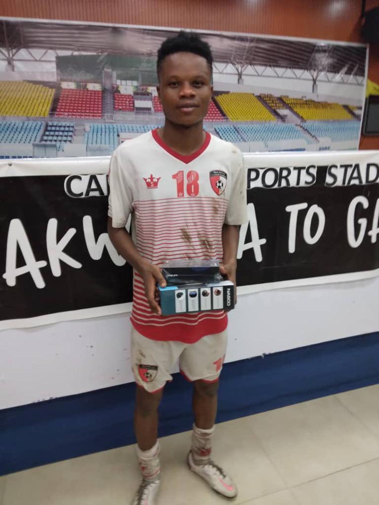 Lawrence Agyekum shines in WAFA's loss to Elmina Sharks