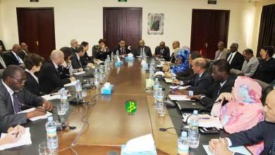 Photo of موريتانيا تناقش إطار شراكتها مع مجموعة البنك الدولي