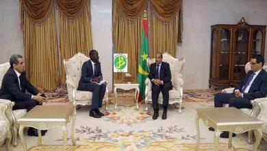 Photo of موريتانيا: الرئيس يلتقي المدير التنفيذي لصندوق النقد بأفريقيا 2