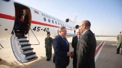 وزير الداخلية الموريتاني يستقبل نظيره الاسباني صباح اليوم - تويتر