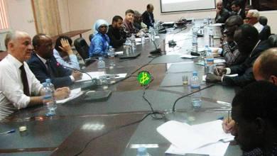 Photo of اجتماع لبحث متابعة مشروع ترقية الصيد في موريتانيا
