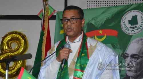 محمد الأمين ولد آبي، السفير الموريتاني في المغرب ورئيس خلية متابعة قضية المهاجرين