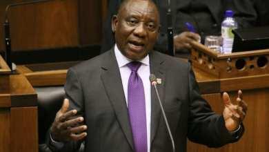 رئيس جنوب إفريقيا، سيريل رامافوسا
