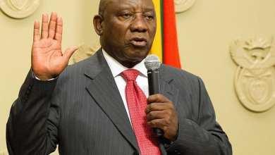 سيريل رامافوزا- رئيس جنوب أفريقيا