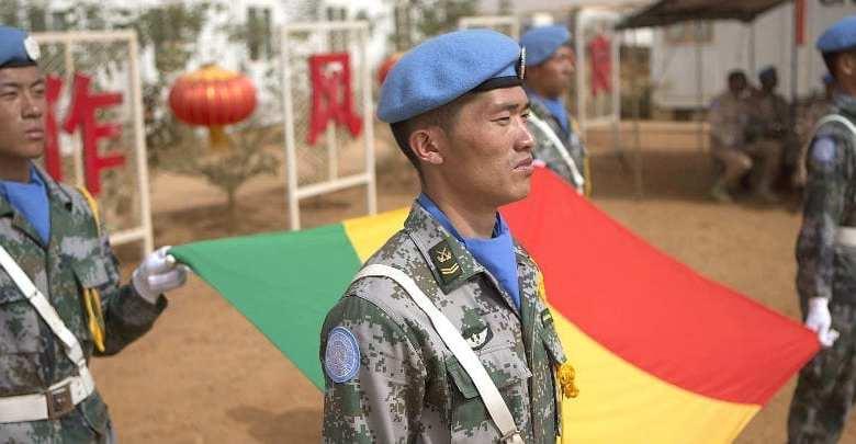 قوات حفظ السلام الصينية في مالي. (الصورة- مينوسما : هاراندان ديكو)