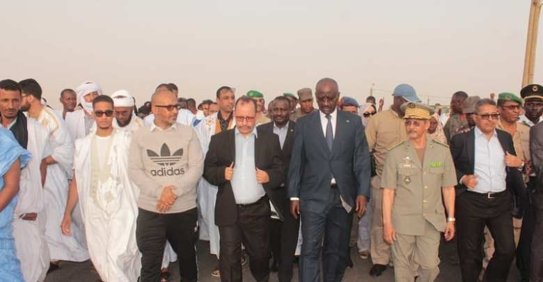 وزير الداخلية الموريتاني يشرف على انطلاق الحملة (الوكالة الموريتانية للأنباء)