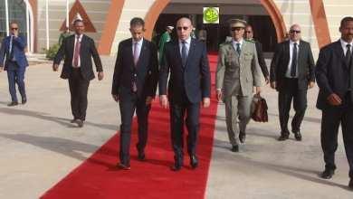 Photo of ولد الغزواني في أول سفر رئاسي رسمي خارج البلاد
