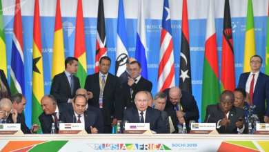 "Photo of سوتشي.. انطلاق الجلسة العامة لقمة ""روسيا-إفريقيا"""