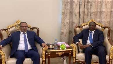 "Photo of لقاء بين ""صال"" ورئيس اتحاد أرباب العمل بموريتانيا"