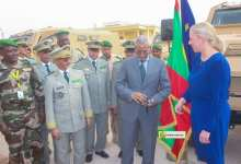 Photo of موريتانيا تتسلم سبع مدرعات من الاتحاد الأوروبي